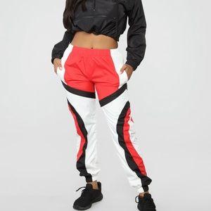 Windbreaker fashion nova pants